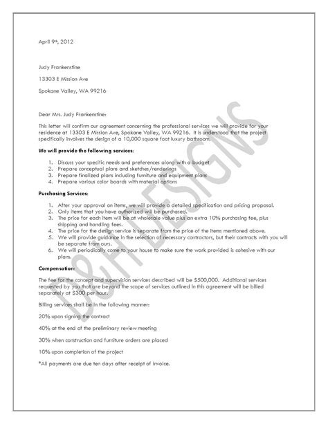 Letter Of Agreement Form Free Printable Letter Of Agreement Form Generic