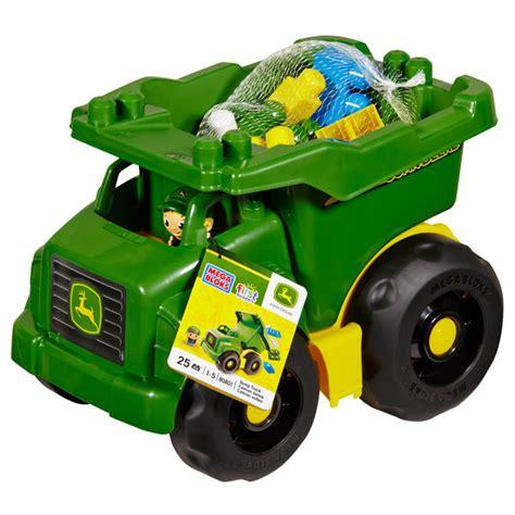 mega dump truck mega bloks deere dump truck toys vehicles