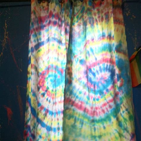 tie dye drapes tie dye curtains by stinaaaaa on deviantart