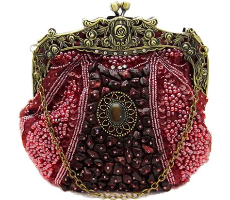 beaded evening purse vintage beaded handbag evening bag purse swarovski