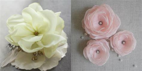 fiori stoffa tutorial fiori di stoffa 4 idee originali per il fai da te roba