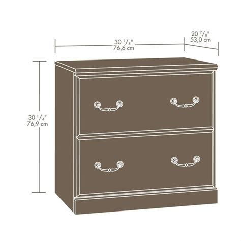 Sauder File Cabinet 2 Drawer by Sauder Orchard 2 Drawer Wood Lateral File Carolina