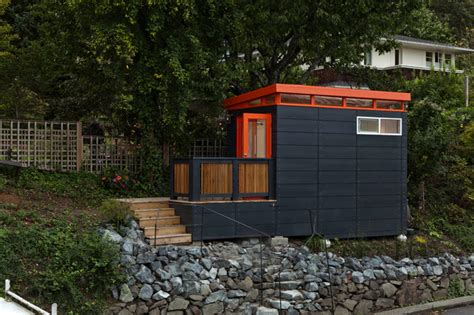 Modern Shed Seattle by Seattle Area Modern Studio Garage And