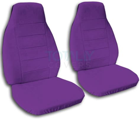 purple seat covers for cars solid color car seat covers front semi custom black