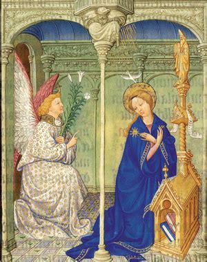 folio 30r the art of the hours of the virgin the art of illumination