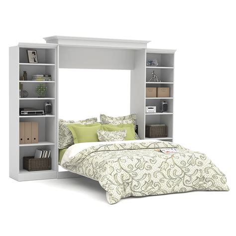 wall bed kit versatile 115 queen wall bed kit in white