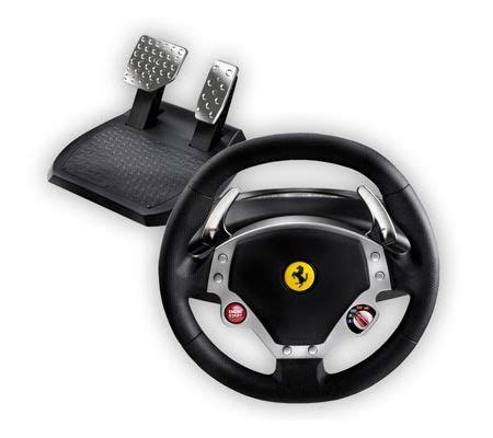 volante f430 thrustmaster f430 feedback test complet
