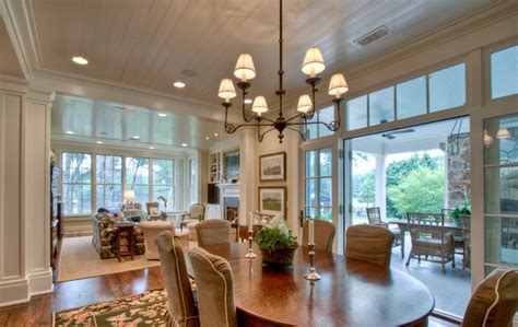 Houzz Farmhouse Dining Room From Pre Fab To Farmhouse Farmhouse Dining Room