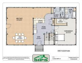 open plan house plans barn house open floor plans exle of open concept barn home plan the main living areas are