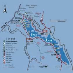 bass lake california map bass lake cing bass lake boat rentals