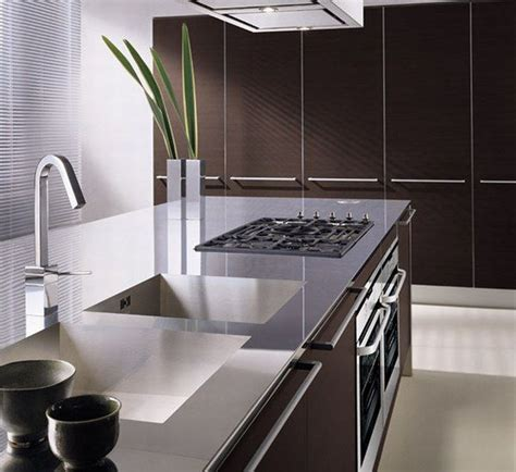 Modern Kitchen Decor by Originality Italian Kitchen Modern Brown Interior Design