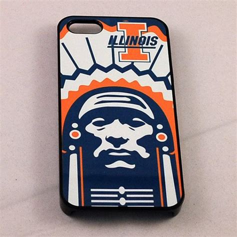 illinois fighting illini iphone 5 cover by