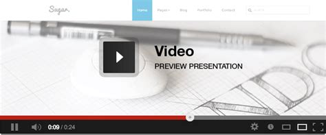Epoch V1 3 1 Fullscreen Agency Theme sugar responsive minimal creative template creative