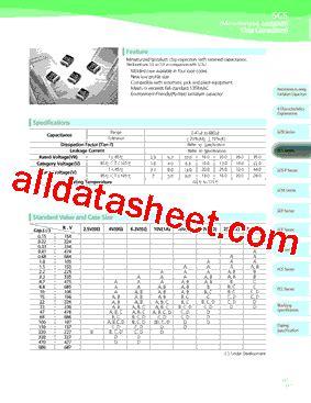 datasheet capacitor samsung tcscn1d225kbar 데이터시트 pdf samsung semiconductor