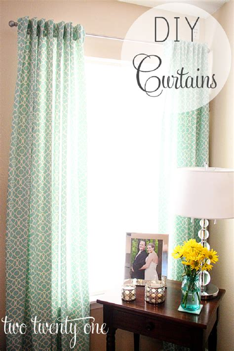 diy curtain top 10 diy curtains projects top inspired