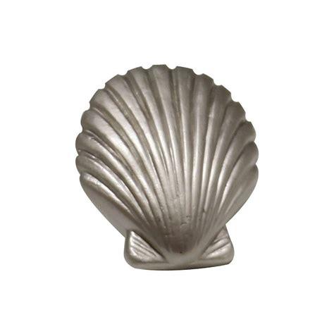 whitehaus collection 1 3 8 in satin nickel seashell