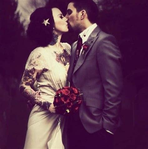 tattooed couple wedding 36 best colour cigarettes images on