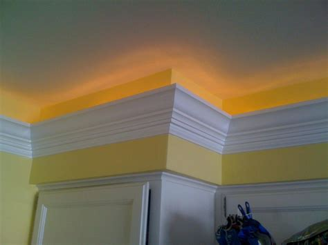 Crown Molding Lighting Details Carpentry And Remodeling Llc Crown Molding