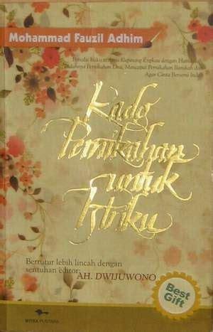 Buku Kado Pernikahan Untuk Istriku Best Gifttl free ebook kado pernikahan untuk istriku fauzil adhim