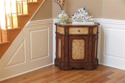 New Classic Wainscoting by Custom Raised Panel Foyer Wainscoting Pictures