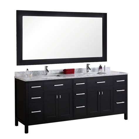 design element london 30 in w x 22 in d makeup vanity in design element london 78 in w x 22 in d vanity in
