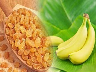 bananas and raisins home remedies help lower heart rate health tips healthy life ideas health care news home