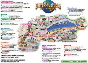 Universal Studios Orlando Maps by Universal Studios Map 2013 Www Galleryhip Com The