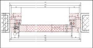 cadre bloc bois porte affleur 233 e avec joint n 233 gatif en