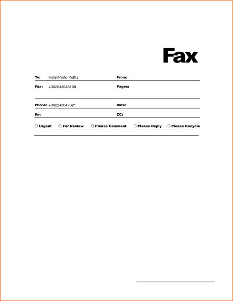 Microsoft Office Fax Template Portablegasgrillweber Com Microsoft Office Templates Fax Cover Sheet