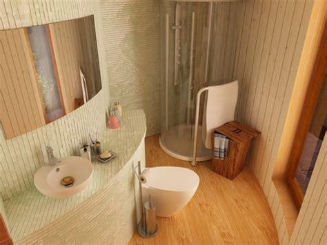 Yurt Bathroom by Q U E R B E E T Tiny Yurt Cabin