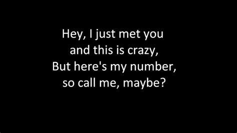 testo call me maybe call me maybe www imgkid the image