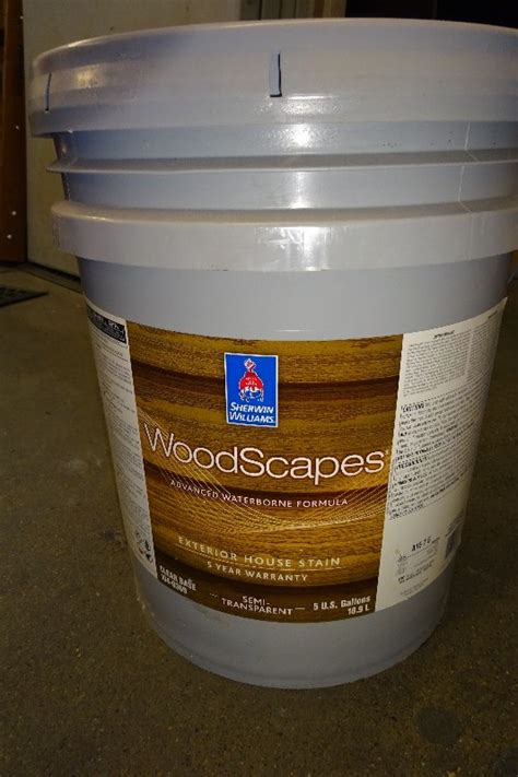 gal sherwin williams woodscapes exterior stain