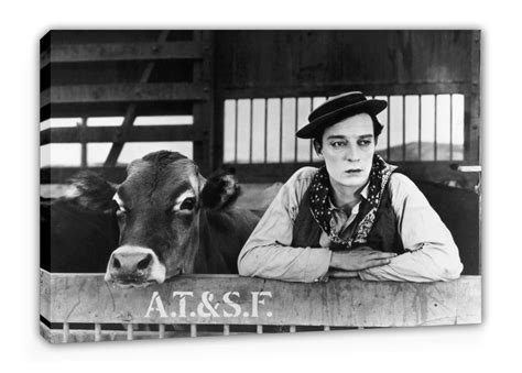 Poster Buster 30x40cm buster keaton lienzo n 186 m0020