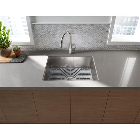 sterling stainless steel kitchen sinks sterling ludington undermount stainless steel 24 in