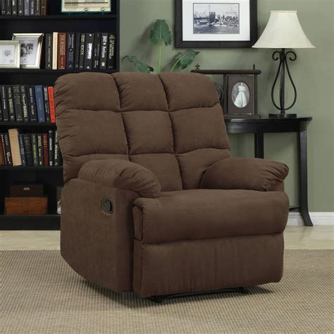 better homes recliner better homes and gardens nailhead leather recliner