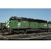Burlington Northern 6596  Midwestern Model Works