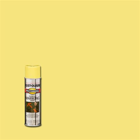 home depot spray paint yellow rust oleum professional 15 oz high visbility yellow