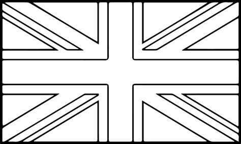 flag of england coloring page coloring pages ideas