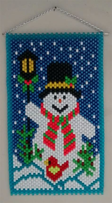 pony bead snowman 438 best pony bead banners images on see best