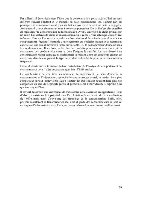 Mba Esg Avis by Modele De Marketing Experientiel 2 0 Fonde Sur L