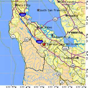 emerald lake california ca population data