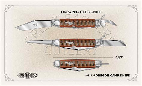 oregon knives okca all the club knives