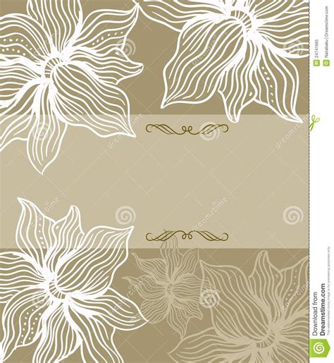 greeting card design templates template frame design for greeting card in vector stock