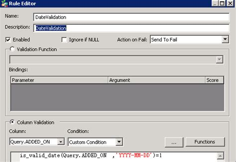 format date bods sap hana data cleansing validations error handling