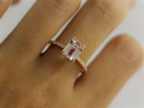 emerald cut garnet engagement rings engagement ring usa