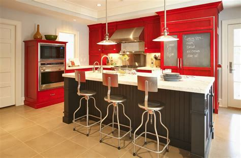 red kitchen paint ideas 10 things you may not know about adding color to your