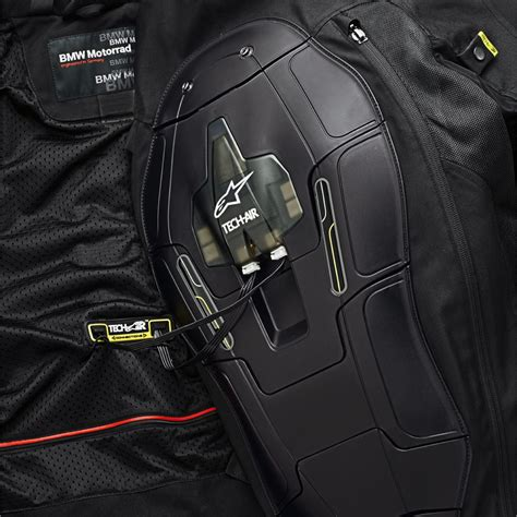 biker safety jackets bmw motorrad introduces airbag jacket for motorcycle safety
