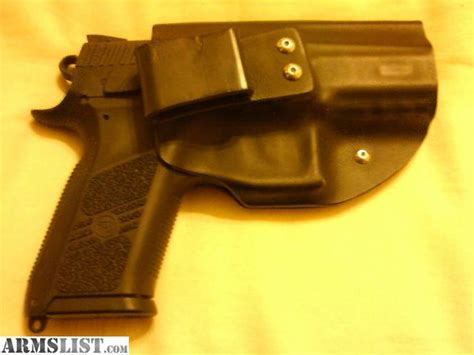 Po Custom 9 armslist for sale cz po7 9mm w custom iwb holster