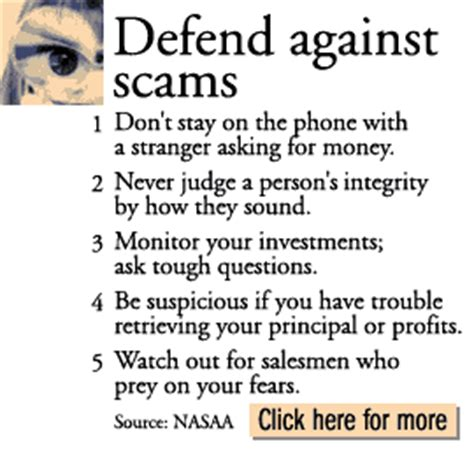 investment scams targeting the elderly feb 14 2000