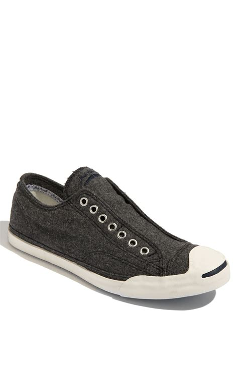 purcell slip on sneakers converse purcell wool slip on sneaker in gray